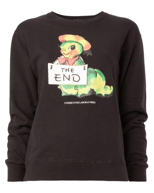 Undercover   Женское Чёрный Print Sweatshirt