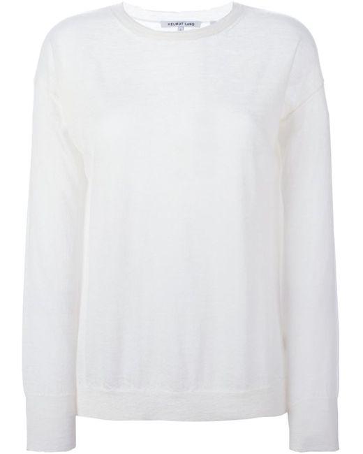 Helmut Lang | Женское Fine Knit Sweater