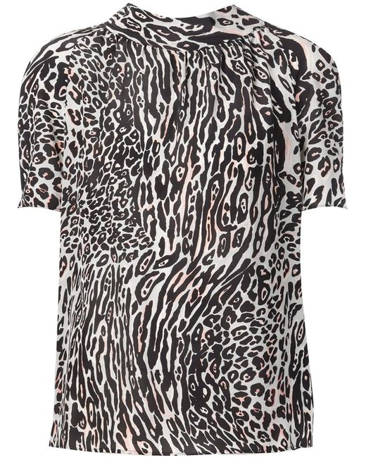Altuzarra | Женское Чёрный Leopard Print Blouse