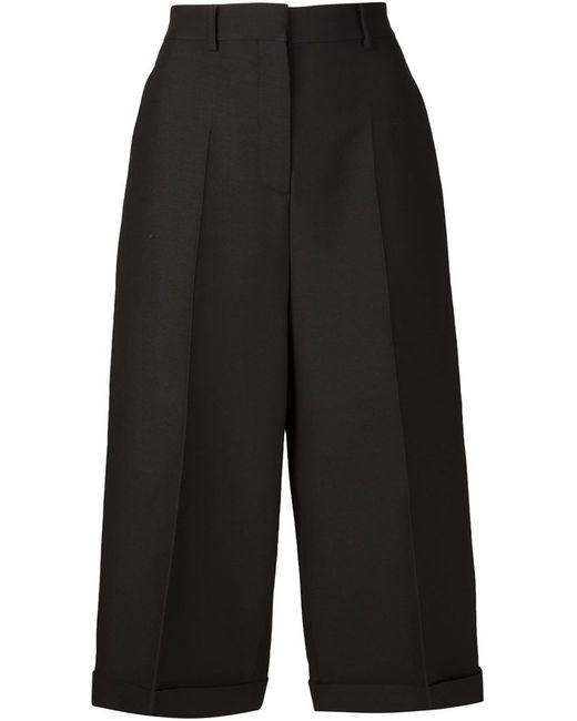 Valentino | Чёрный Tailored Culottes