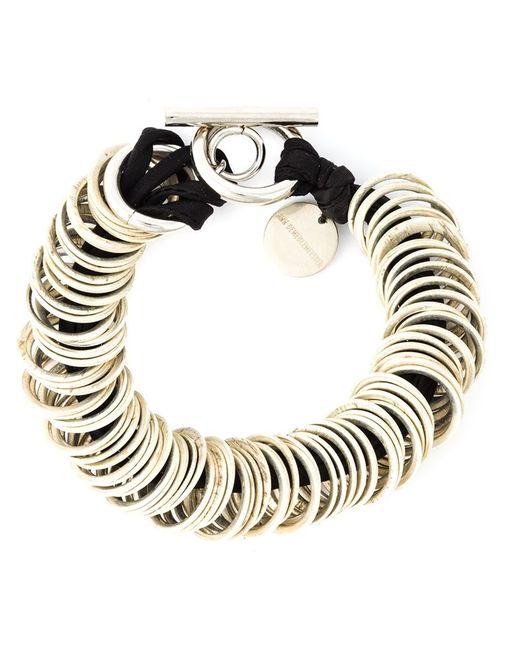 Ann Demeulemeester | Женское Чёрный -Ring Bracelet