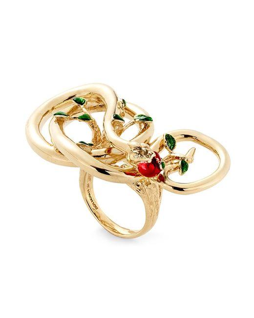 ALISON LOU | Женское Желтый 14kt Forbidden Fruit Ring