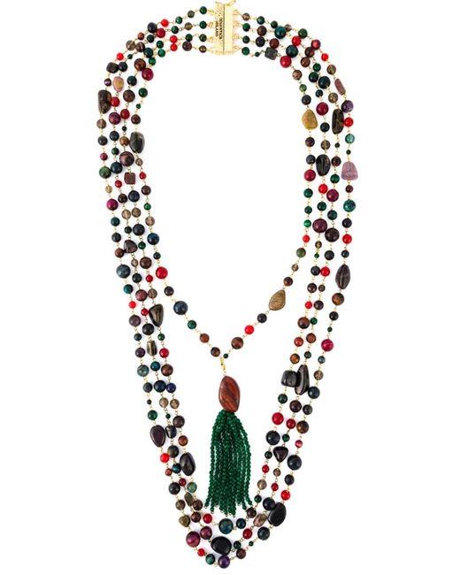 Rosantica | Женское Многоцветный Multiple Row Beaded Necklace