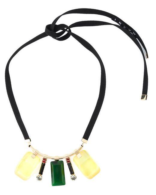 Marni | Женское Многоцветный Multiple Pendant Necklace
