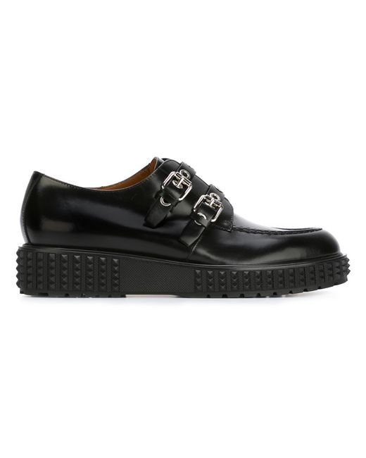Valentino Garavani | Женское Чёрный Double Monk Shoes