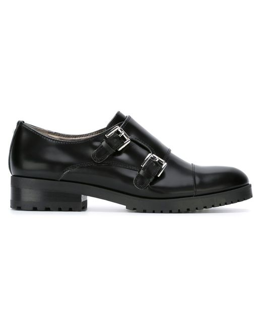 Sam Edelman | Чёрный Melanie Monk Strap Shoes