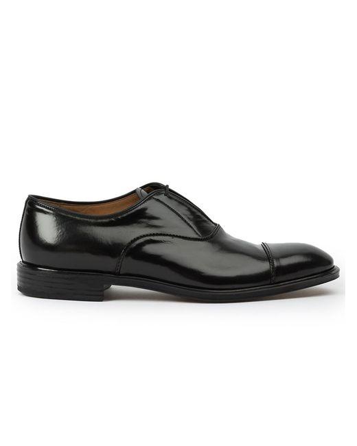 Premiata | Мужские Чёрные Классические Туфли-Оксфорды
