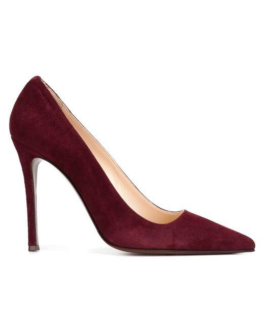L' Autre Chose | Женские Розовые Туфли С Заостренным Носком