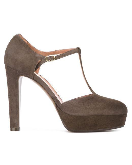 L' Autre Chose   Женские Коричневые Туфли На Платформе
