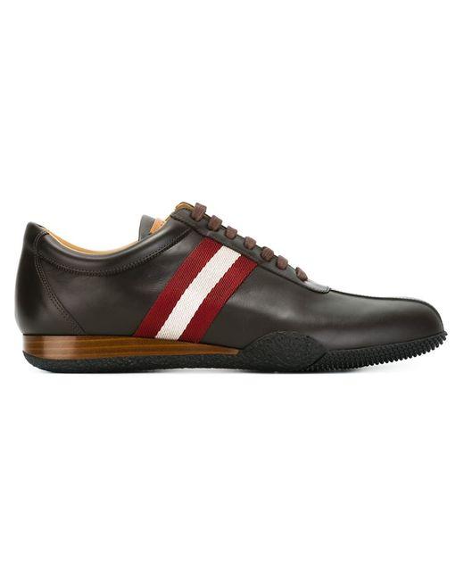 Bally | Мужское Коричневый Stripe Detail Sneakers