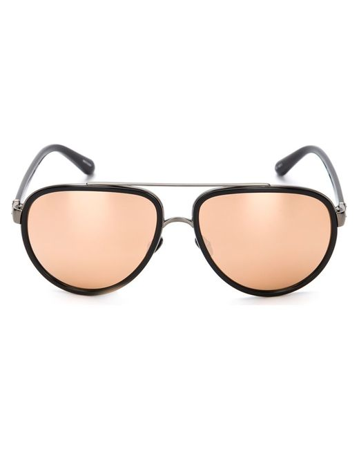 Linda Farrow | Чёрный 165 Sunglasses