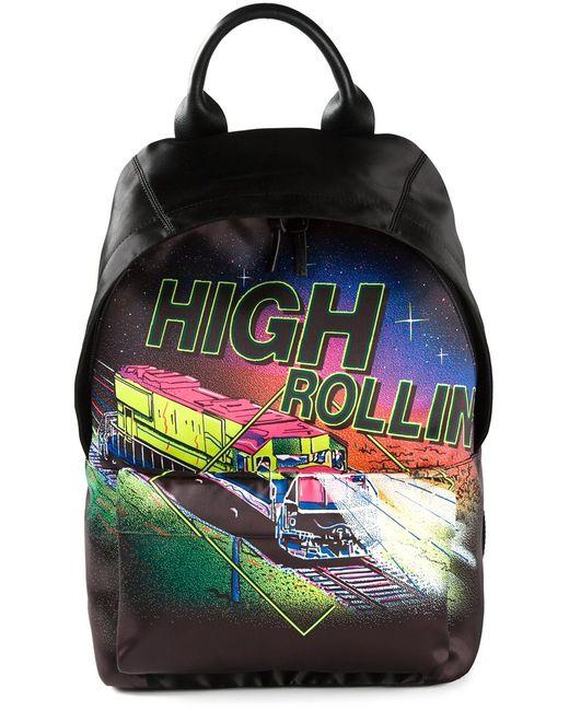Mcq Alexander Mcqueen | Женское Чёрный High Rollin Print Backpack