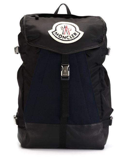MONCLER X AMI | Мужское Чёрный Buckled Backpack