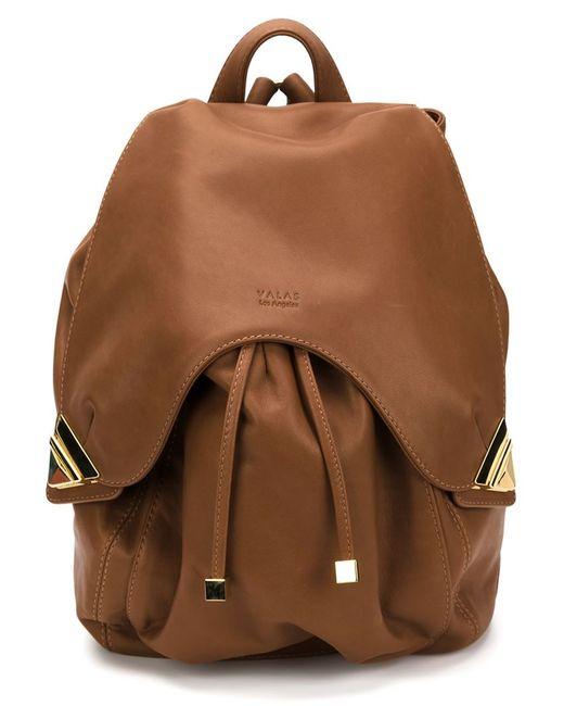 VALAS   Женское Коричневый Leather Backpack