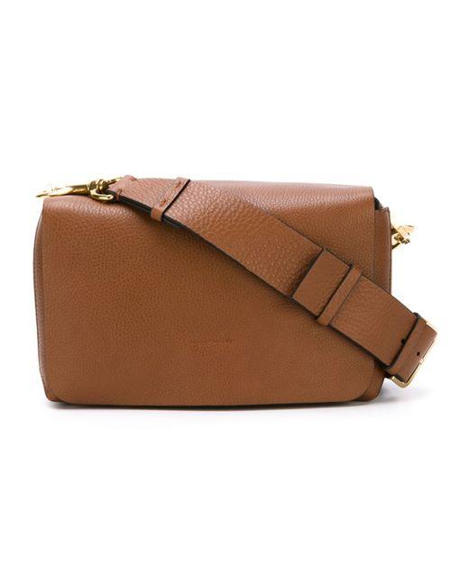 Lanvin | Женское Коричневый Rectangular Shoulder Bag
