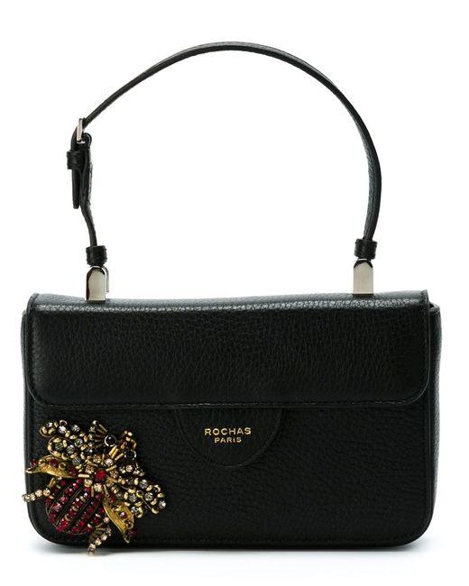 Rochas | Женское Чёрный Small Embellished Bag