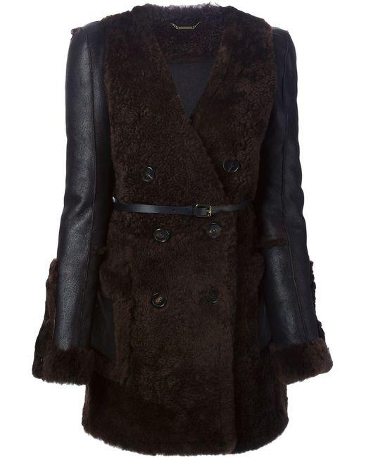 Chloe | Женское Коричневый V-Neck Coat
