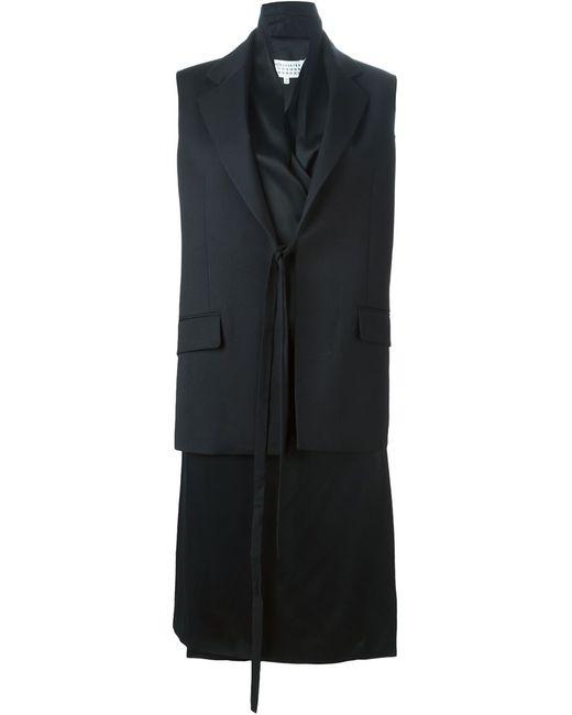 Maison Margiela   Женское Чёрное Платье-Жилет