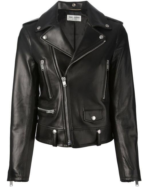 Saint Laurent | Женское Чёрный Biker Jacket