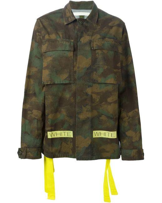 OFF-WHITE | Женское Camouflage Jacket