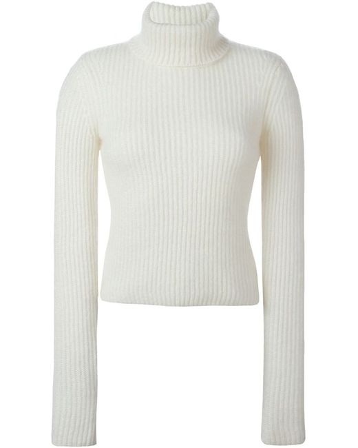 Neil Barrett | Женское Nude & Neutrals Ribbed Sweater