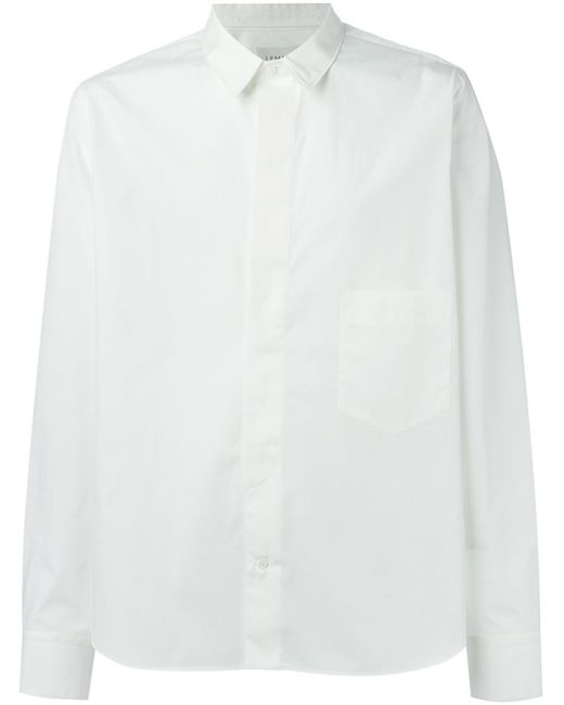 LEMAIRE   Мужское Белый Pocket Shirt