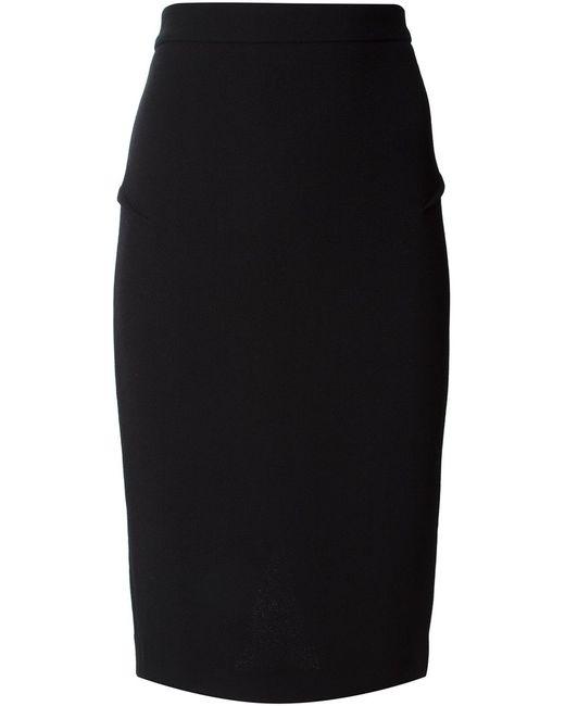 Roland Mouret | Женское Чёрный Pencil Skirt