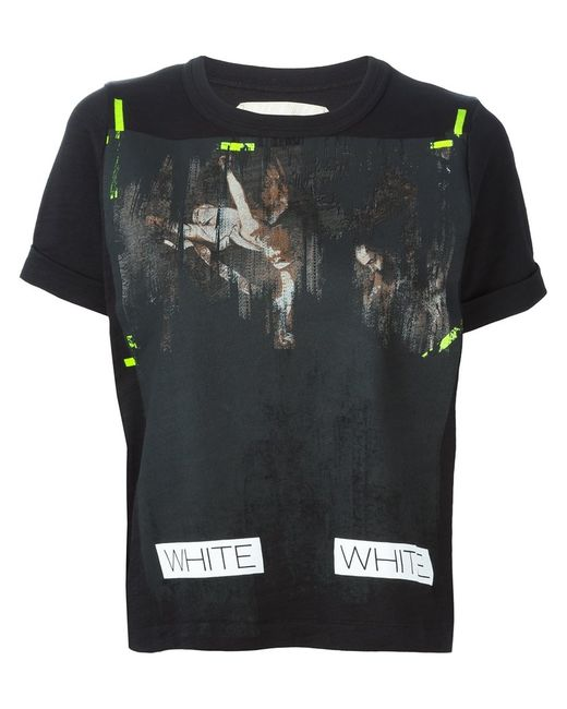 OFF-WHITE | Женское Printed Logo T-Shirt