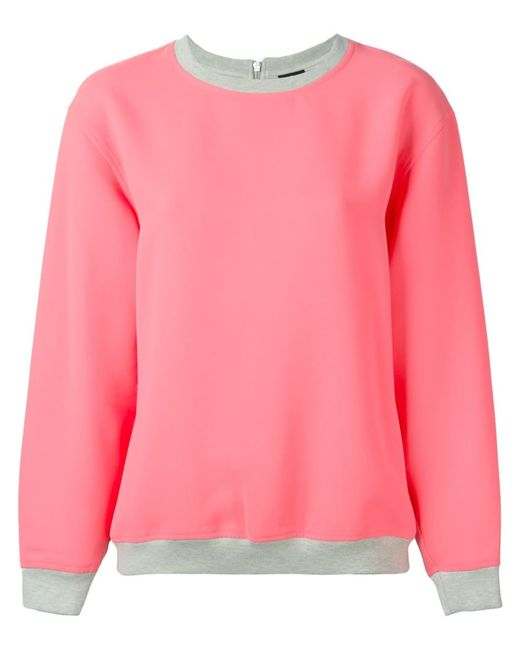 Mcq Alexander Mcqueen | Женское Розовый Bi-Colour Sweatshirt