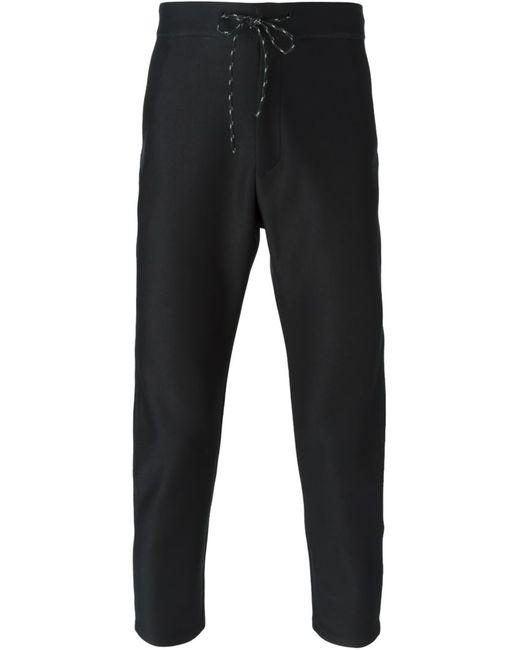 CMMN SWDN   Чёрный Drawstring Fastening Trousers