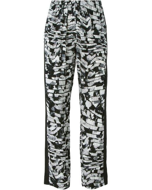 Kenzo | Чёрный Spray Stripes Trousers