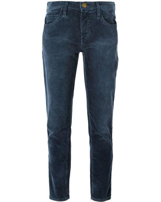 Current/Elliott   Синий Corduroy Trousers