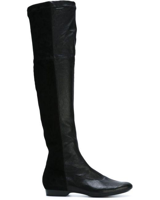 Robert Clergerie | Женское Thigh Length Flat Boots