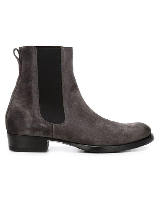 BUTTERO® | Мужские Серые Ботинки С Эластичными Панелями