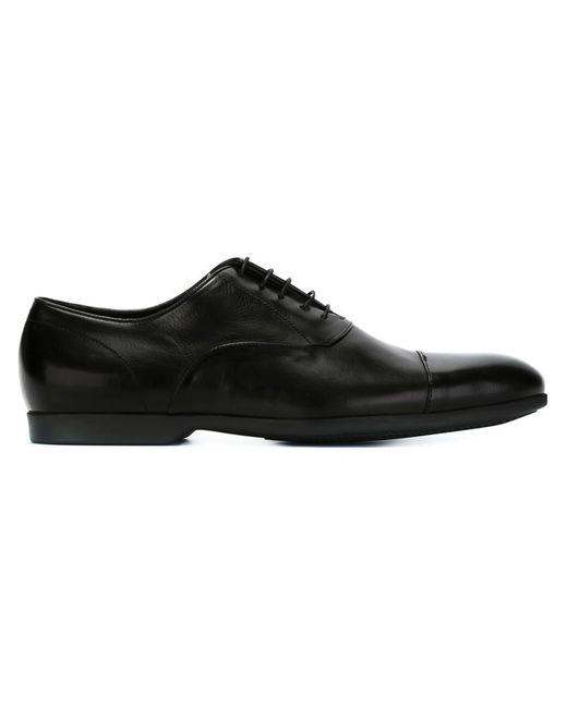 Paul Smith | Мужские Чёрные Туфли Оксфорды