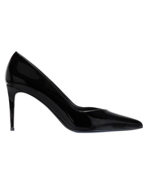 Saint Laurent | Женские Чёрные Туфли Paris