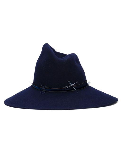 GIGI BURRIS MILLINERY | Синий Drake Hat