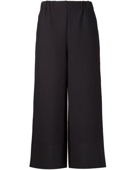 Issey Miyake | Женское Синий Wide Leg Cropped Trousers