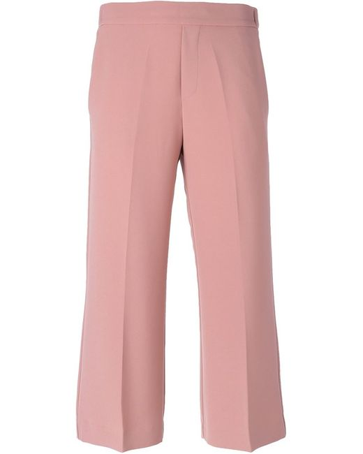 P.A.R.O.S.H.   Женское Розовый Cropped Trousers