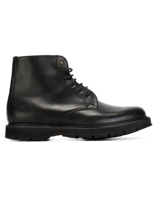 Church'S | Мужские Чёрные Ботинки Nerston