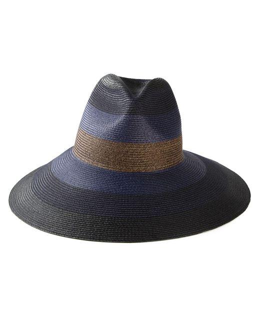 Tomas Maier | Женская Синяя Полосатая Шляпа С Широкими Полями