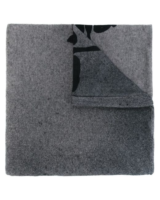 Rundholz   Женское Серый Print Knit Scarf