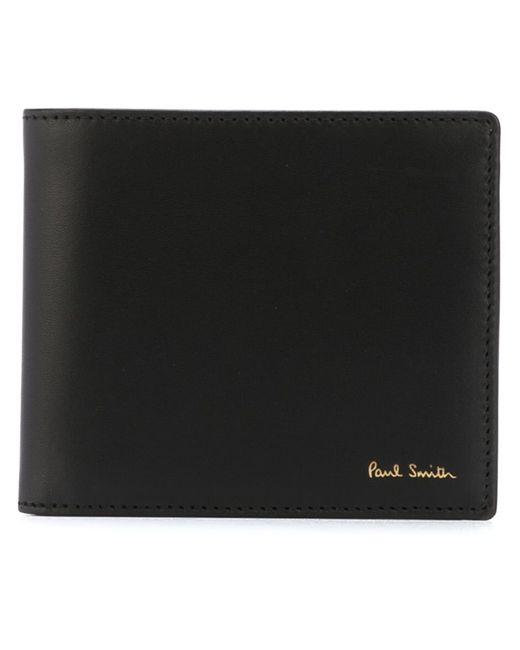 Paul Smith   Мужской Чёрный Складной Бумажник