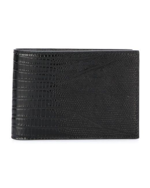 Saint Laurent | Мужской Чёрный Классический Бумажник