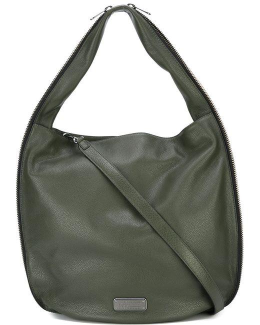 Marc by Marc Jacobs | Женская Зелёная Сумка-Хобо New Q Zippers Hillier Hobo