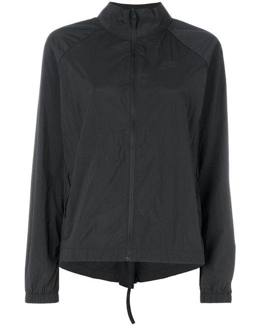 Nike | Женская Чёрная Спортивная Куртка