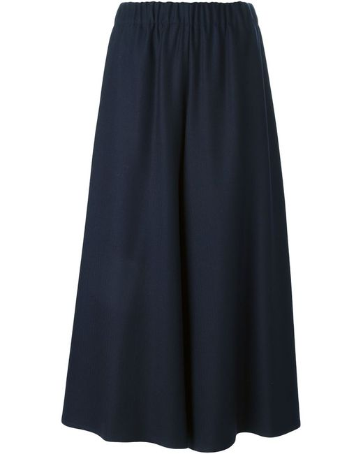 DUSAN | Женское Синий Wide Leg Culottes