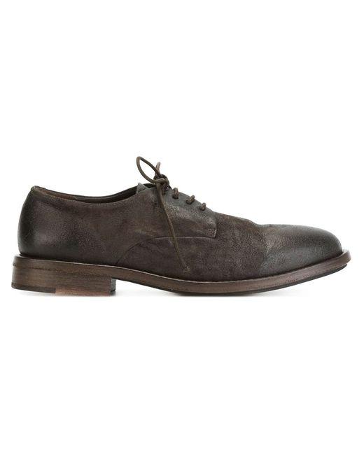 Marsell | Мужские Коричневые Туфли Дерби