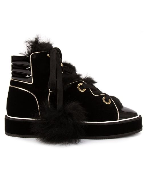 Nicholas Kirkwood | Женское Чёрный Polly Neige Hi-Top Sneakers