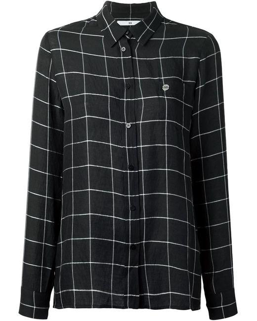 Spijkers En Spijkers | Женское Чёрный Checked Shirt